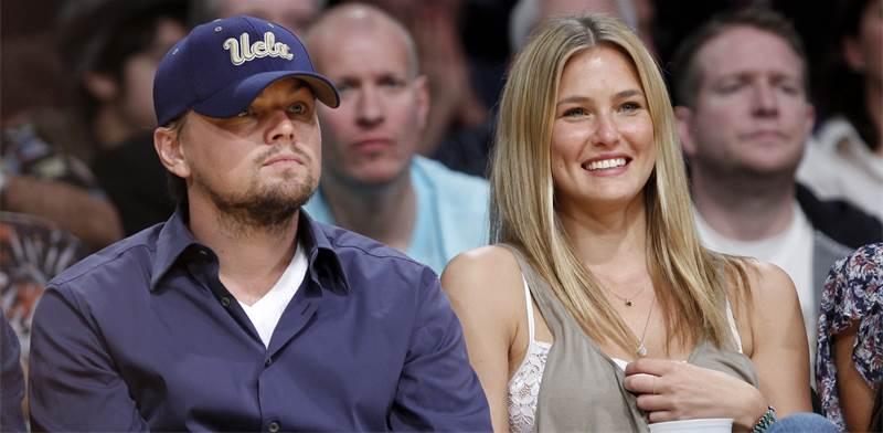 Leonardo DiCaprio and Bar Refaeli / Photo: Lucy Nicholson, Reuters