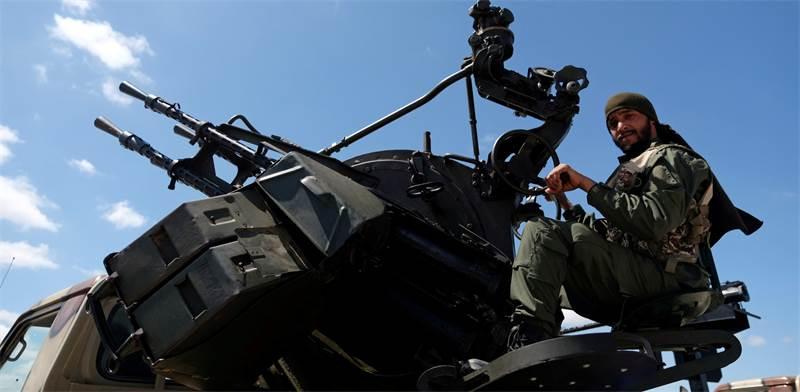 חייל בצבא לוב / צילום: Esam Omran Al-Fetori, רויטרס
