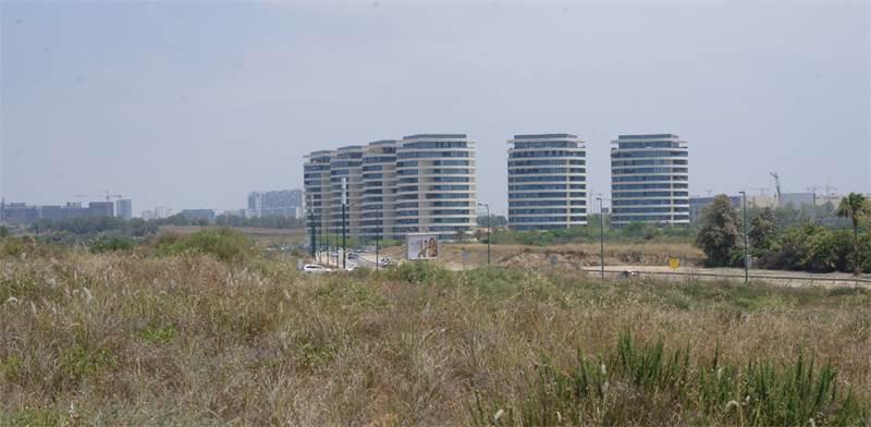 פרויקט BLUE בצפון תל-אביב / צילום: איל יצהר, גלובס
