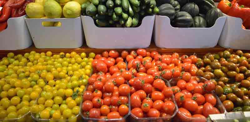 פירות וירקות / צילום: תמר מצפי