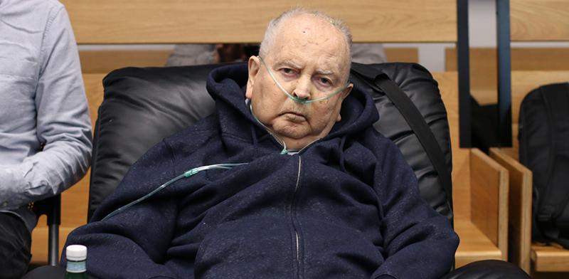 בוריס וייסמן בבית המשפט במהלך אחד הדיונים האחרונים במשפטו. מחזה לא שגרתי / צילום: כדיה לוי