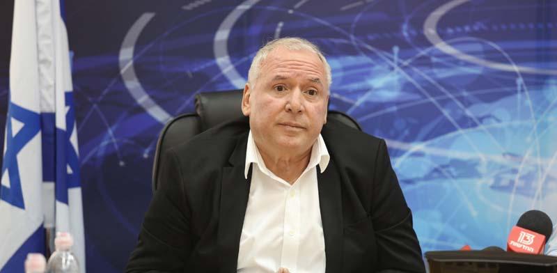 שר התקשורת דוד אמסלם / צילום: יוסי זמיר