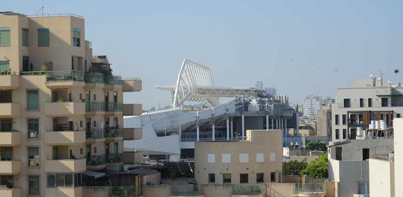 אצטדיון בלומפילד ממערב. / צילום: איל יצהר
