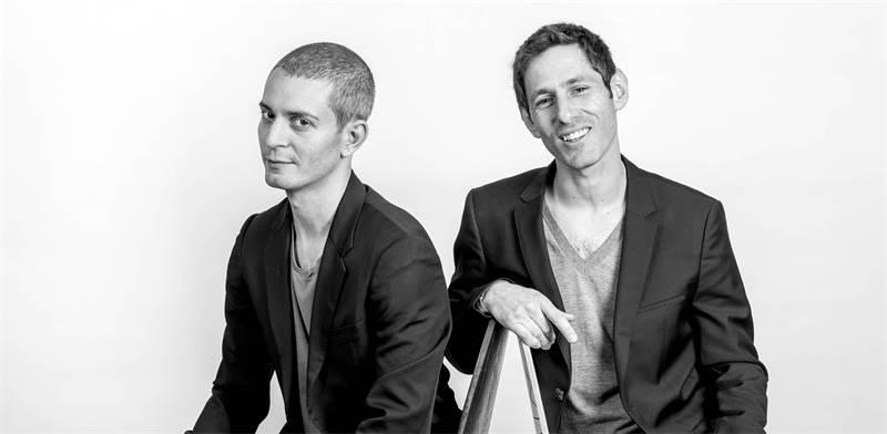 Applicaster founders Jonathan Laor and Neer Friedman Photo: Jonathan Laor