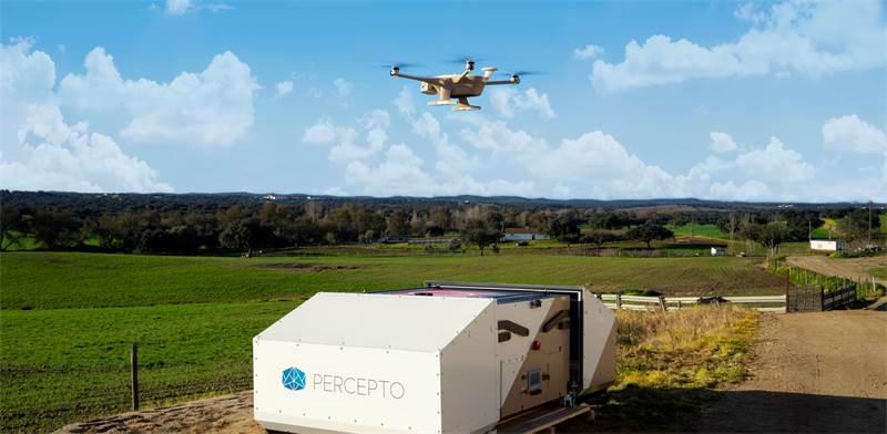 Percepto autonomous drones Photo: Percepto