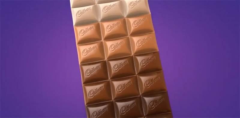 """שוקולד קדבורי בארבעה צבעים / צילום: יח""""צ קדבורי"""
