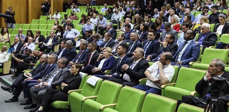 חברי הכנסת העתידיים ביום העיון בכנסת / צילום: דוברות הכנסת נועם מוסקוביץ