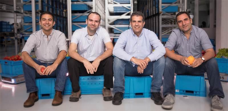 """מייסדי פאבריק: אלרם גורן (מימין), שי כהן, אורן אברהם ואייל גורן / צילום: יח""""צ"""