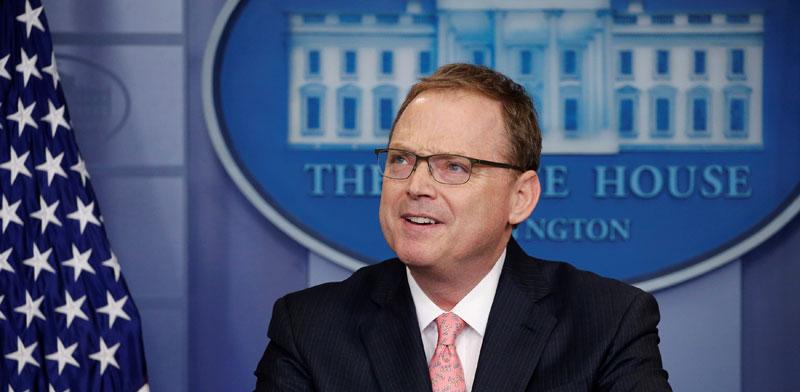 """קווין האסט, יו""""ר מועצת היועצים הכלכליים בבית הלבן / צילום: רויטרס, Jonathan Ernst"""