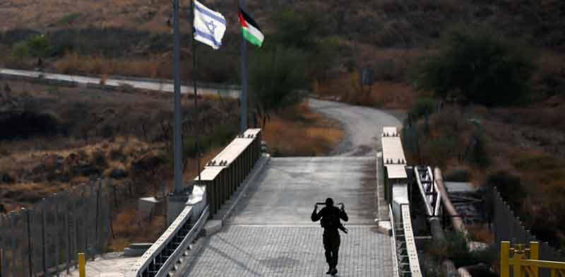 גבול ישראל-ירדן ליד נהריים / צילום: רויטרס
