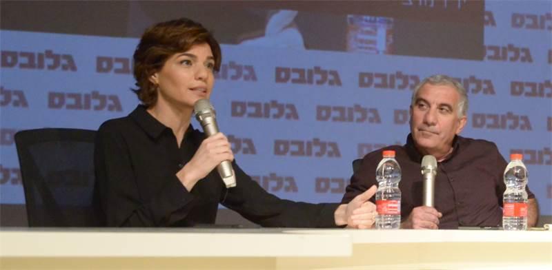 """יו""""ר מרצ תמר זנדברג בוועידת ישראל לנדל""""ן / צילום: איל יצהר"""