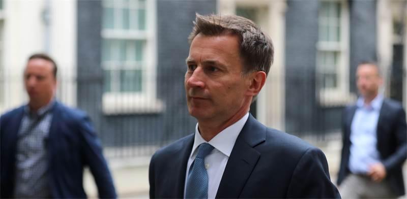 ג'רמי האנט, שר החוץ של בריטניה / צילום: REUTERS, Simon Dawson