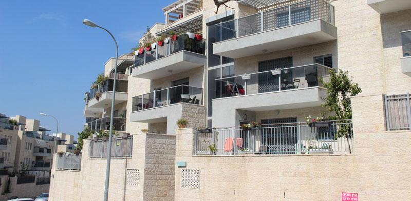 """רחוב תמוז בשכונת כררמים במודיעין / צילום: יח""""צ"""