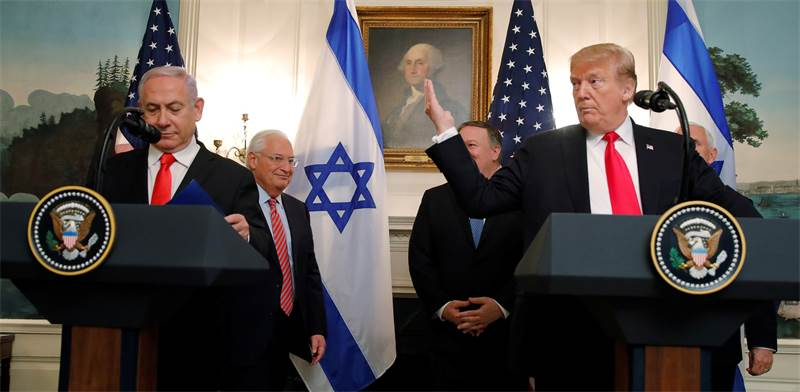 Benjamin Netanyahu and Donald Trump  photo: Carlos Barria, Reuters