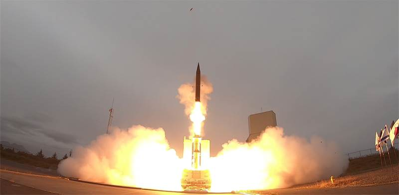 Arrow missile firing / Photo: Ministry of Defense press office
