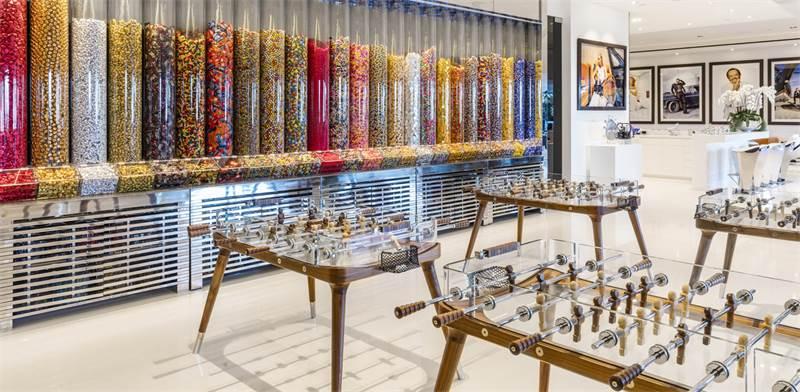 חדר ממתקים  / צילום: סיימון ברלין