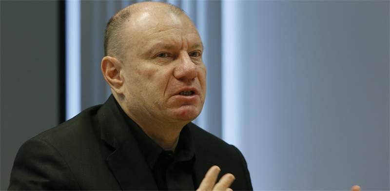 """ולדימיר פוטנין, בעל שליטה ומנכ""""ל נורניקל / צילום: Maxim Shemetov, רויטרס"""