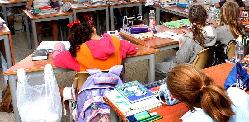 תלמידים בכיתה / צילום: איל יצהר