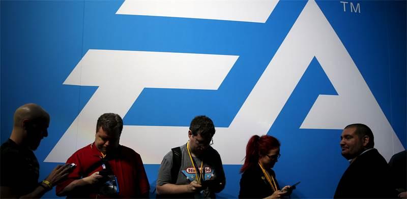 EA בכנס E3 / צילום: לוסי ניקולסון, רויטרס