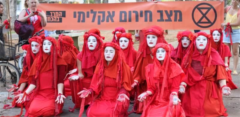 הבריגדה האדומה / צילום: אלעד עציון, המרד בהכחדה