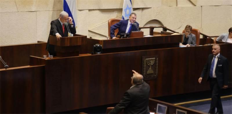 אחמד טיבי מתעמת עם ראש הממשלה  / צילום: דוברות הכנסת - עדינה ולמן