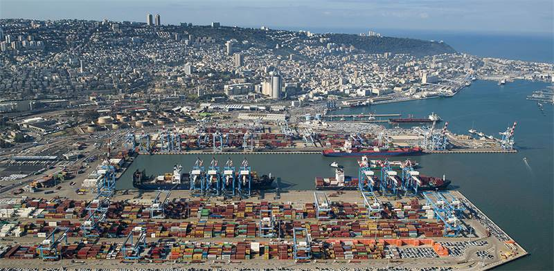 נמל חיפה. התחדש באתר אינטרנט מתקדם לתחום התובלה הימית / צילום: ורהפטיג ונציאן
