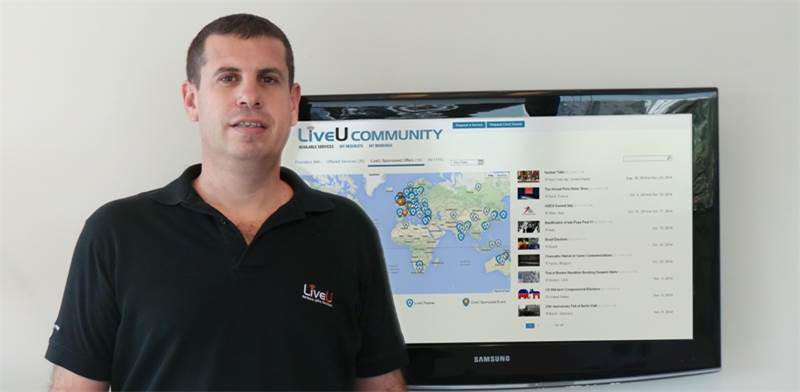 "שמוליק וסרמן, מנכ""ל ומייסד LiveU / צילום: LiveU"