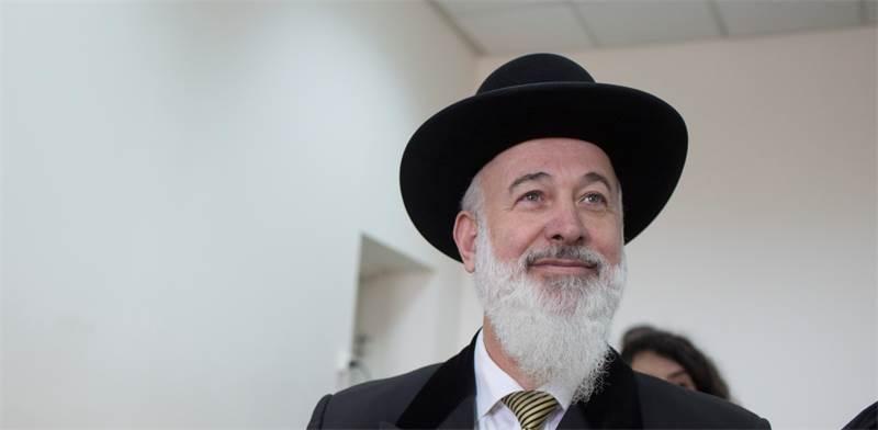 יונה מצגר, הרב הראשי לישראל לשעבר / צילום: ליאור מזרחי