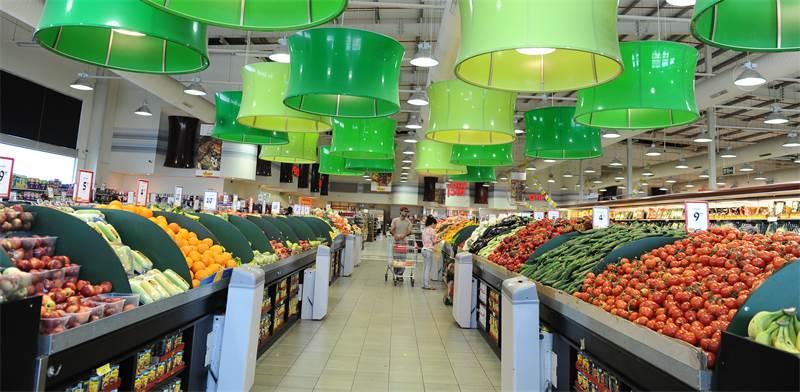 סופרמרקט של יוחננוף בקריית עקרון / צילום: תמר מצפי