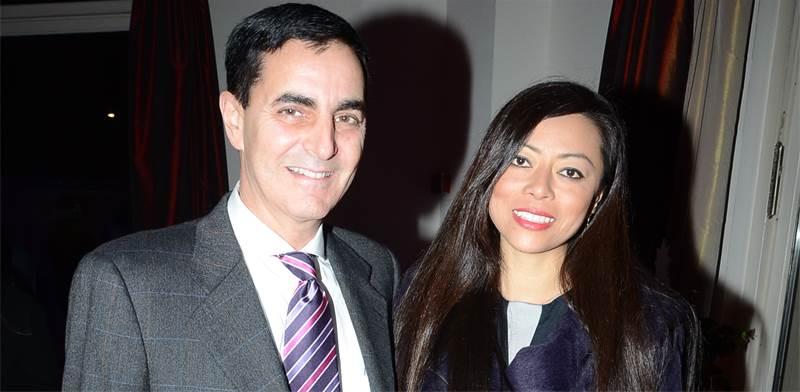 חיים הורביץ ואשתו לשעבר נעמי (נאם) / צילום: אביב חופי