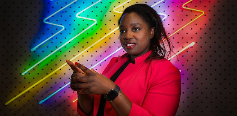 דאפסי אביולה, מנהלת החדשנות של קבוצת IAG  / צילום: כדיה לוי, גלובס