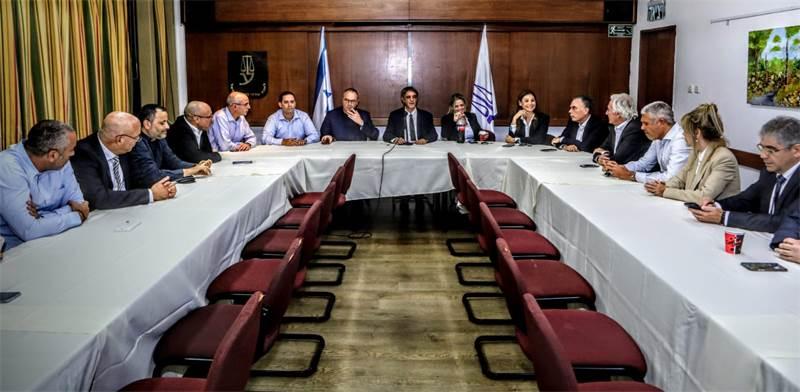 הדיון בלשכת עורכי הדין היום / צילום: שלומי יוסף