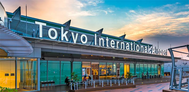 שדה התעופה האנדה בטוקיו / צילום: שאטרסטוק