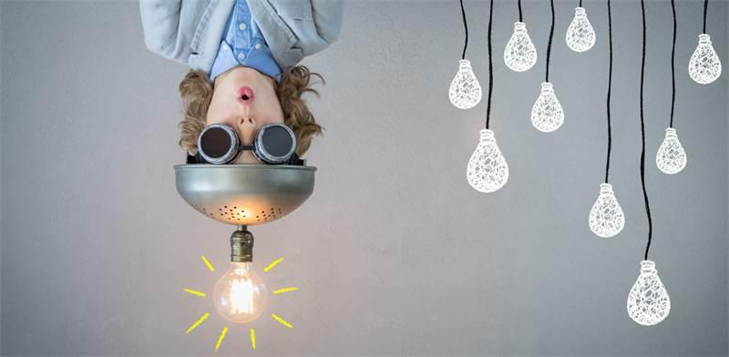 איך נראה מוח שנוצר בו רעיון חדש? / קרדיט: Shutterstock