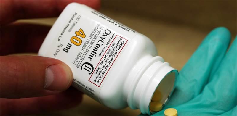 אוקסיקונטין (Oxycontin) של פרדו פארמה / צילום: ג'ורג' פריי, רויטרס