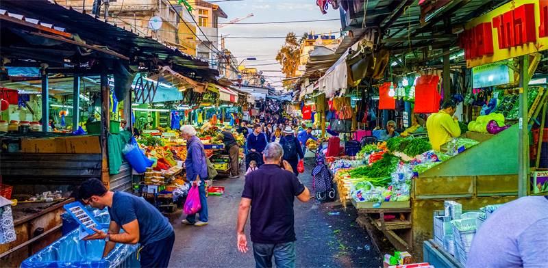 Carmel Market, Tel Aviv / Photo: Shutterstock