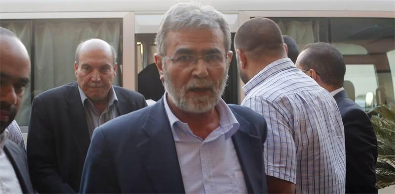 זיאד נח'לה, הג'יהאד האיסלאמי / REUTERS/Asmaa Waguih
