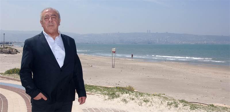 דוד אבן צור, ראש עיריית קריית ים / צילום: פאול אורלייב