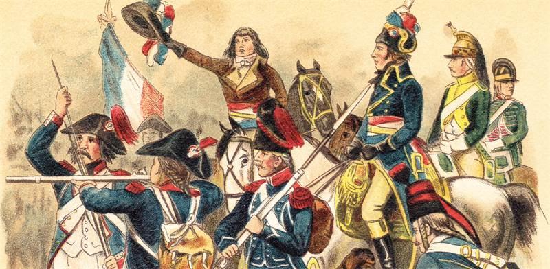 המהפכה הצרפתית / צילום: shutterstock