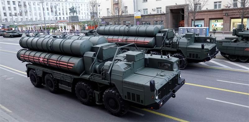 מערכות S-400 הרוסיות / צילום: Tatyana Makeyeva, רויטרס