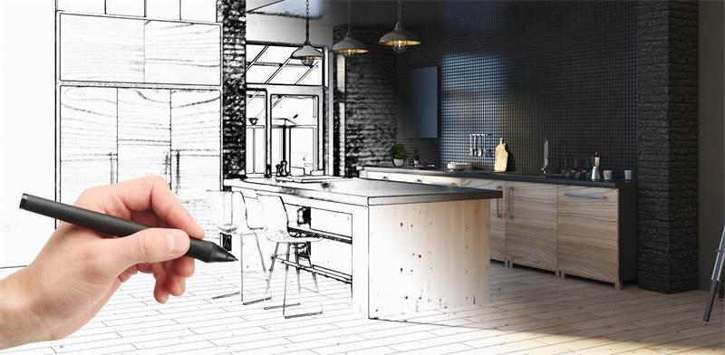 מקררי digital inverter של Samsung עם 4 דלתות תורמים לעיצוב המטבח / צילום: Shutterstock/א.ס.א.פ קרייטיב