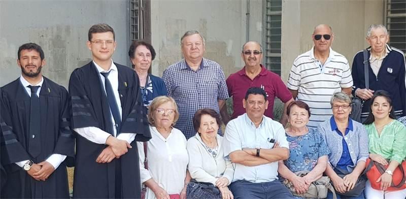 העובדים שהעסיקה חברת אדר שירותים / צילום: ההסתדרות
