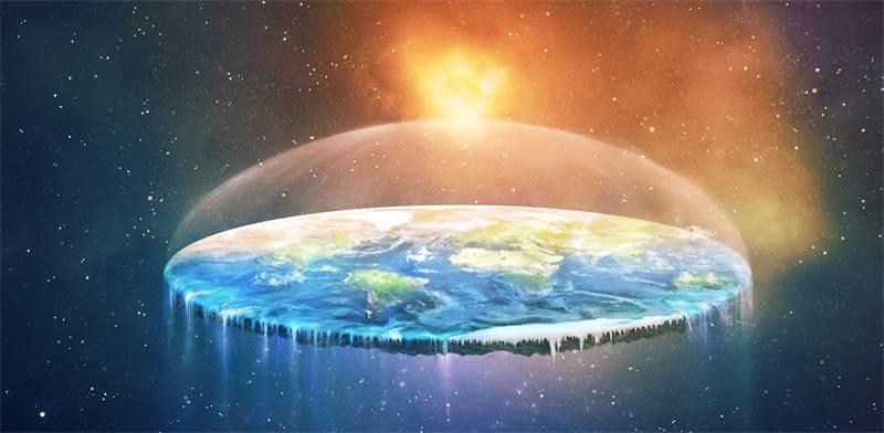 כדור ארץ שטוח / אילוסטרציה: שאטרסטוק
