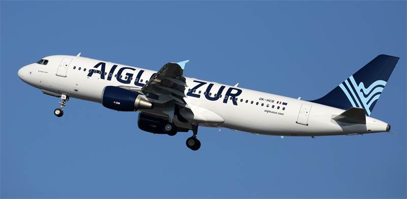 מטוס של חברת התעופה הצרפתית איגל אזור / צילום: שאטרסטוק