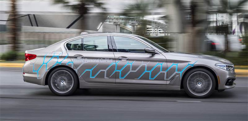 BMW autonomous car  photo: PR