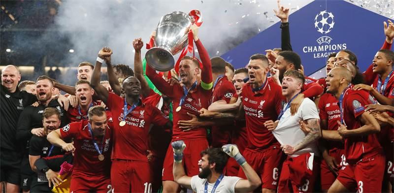 ליברפול חוגגת את הזכייה בגמר ליגת האלופות 2019. רזולוציות של שניות / צילום: מוטסו קאוואמורי, רויטרס