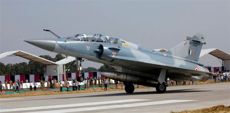Indian air force plane photo: Reuters Pawan Kumar