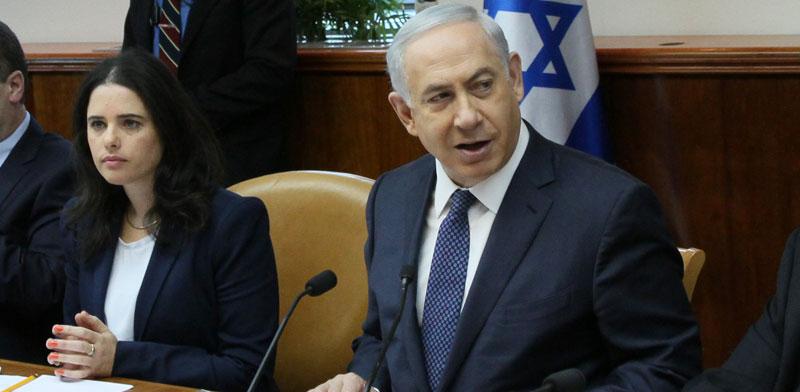 Ayelet Shaked and Benjamin Netanyahu