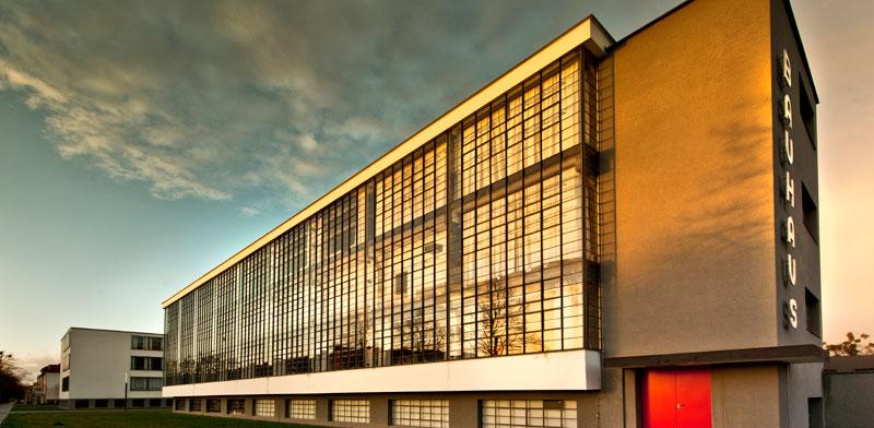 בית הספר באוהאוס בדסאו / צילום: Sebastian Kaps
