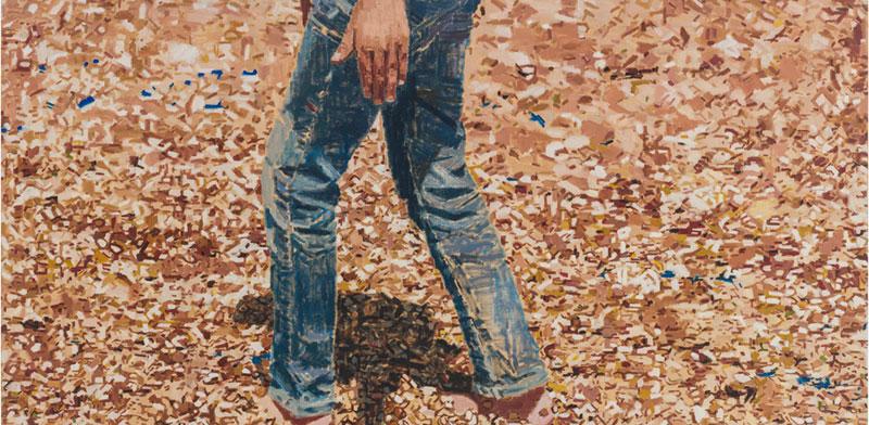 עבודה של פאטמה שאנן / צילום: רן ארדה